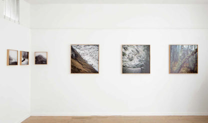 Vue exposition Galerie Confluence, Nantes 2016